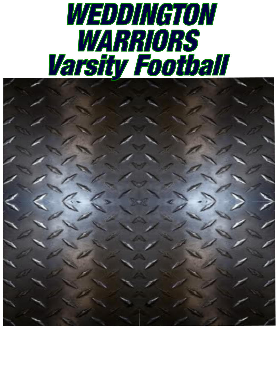 WEDDINGTON WARRIORS Varsity Football