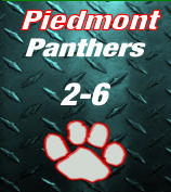 Piedmont Panthers 2-6